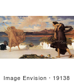 #19138 Photo Of Greek Girls Playing At Ball By Frederic Lord Leighton