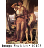 #19153 Photo Of Jonathan'S Token To David By Frederic Lord Leighton
