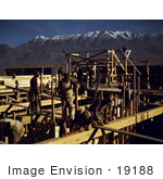#19188 Photo Of Construction Workers Constructing A New Mill Geneva Utah 1942