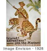 #1928 Travel? Adventure? Answer - Join The Marines!