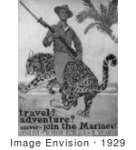 #1929 Travel? Adventure? Answer - Join The Marines!