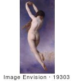 #19303 Photo Of The Back Side Of A Nude Woman Lost Pleiad By William-Adolphe Bouguereau