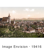 #19416 Photo Of The Town Of Krems In Lower Austria Austro-Hungary