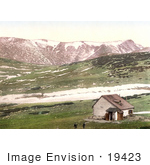 #19423 Photo Of Dambokhaus On The Schneeberg Mountain In The Alps Of Lower Austria Austro-Hungary