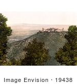 #19438 Photo Of Gottweig Abbey On A Hill Overlooking A Village Lower Austria Austro-Hungary