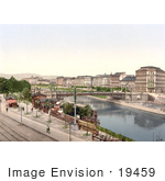 #19459 Stock Photo Of The Stephany Or Stephanie Bridge In Vienna Austria