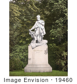 #19460 Stock Photo Of The Monument To The Artist Hans Makart In Vienna Austria Austro-Hungary