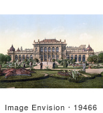 #19466 Stock Photo Of People Strolling Through The Garden At The Casino In Vienna Austria