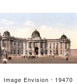 #19470 Stock Photo Of The Hofburg Imperial Palace In Vienna Austria Austro-Hungary