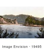 #19495 Photo Of Strudel Rapids In Upper Austria Austro-Hungary