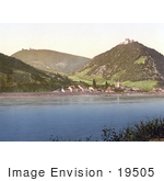 #19505 Photo Of Kahlenberg And Leopoldsberg Near The Danube River In Vienna Austria