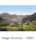 #19507 Photo Of St Gilgen On Wolfgangsee Lake With A View Of The Zwolferhorn Salzburg Upper Austria