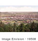 #19508 Photo Of The City Of Linz On The River Danube Upper Austria