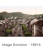 #19513 Photo Of The Roads In Carlsbad Karlovy Vary Bohemia Czech Republic