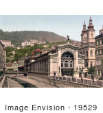 #19529 Photo Of The Sprudel Colonnade In Carlsbad Bohemia Czech Republic