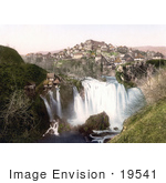 #19541 Photo Of The Village Of Jajce On The Rivers Of Pliva And Vrbas In Bosnia