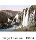 #19554 Photo Of Cascading Waterfalls Near Knin Dalmatia Croatia