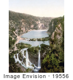 #19556 Photo Of Pools And Waterfalls Of The Plitvice Lakes National Park Ermitensee Croatia