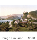 #19558 Photo Of Veldes And The Bled Castle On Lake Bled Upper Carniola Slovenia