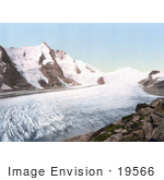 #19566 Photo Of Grossglockner Mountain And Johannisberg In Carinthia