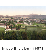 #19573 Photo Of The City Of Klagenfurt Am Worthersee In Carinthia Austria