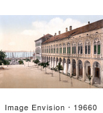 #19660 Photo Of The Fountain Near The Hotel De Ville In Split Croatia