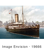 #19666 Photo Of The Steamship Lydia