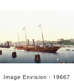 #19667 Photo Of The Royal Yacht Called Osborne
