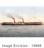 #19668 Photo Of The Steamship Koh-I-Noor