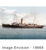 #19669 Photo Of The Steamship Vera