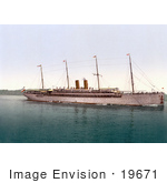 #19671 Photo Of The Kaiser Wilhlem Ii Steamship