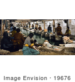 #19676 Photo Of Women Gathered To Do Laundry In Mexico City Mexico