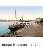 #19700 Photo Of A Ship In The Harbor At Zadar Iadera Zara Croatia