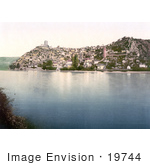 #19744 Photo Of The Waterfront Village Of Pocitelj On The Neretva River In Herzegowina