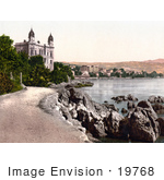 #19768 Photo Of The Strand Promenade Along The Waterfront In Opatija Abbazia Sankt Jakobi Istria Croatia