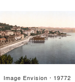 #19772 Photo Of The Baths And Waterfont In Opatija Abbazia Sankt Jakobi Istria Croatia
