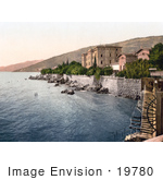 #19780 Photo Of The Baths And Stairs On The Beach At Hotel Quarnero In Opatija Abbazia Sankt Jakobi Istria Croatia