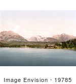 #19785 Photo Of Hotels On The Strbske Pleso Lake High Tatras Slovakia