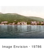 #19786 Photo Of The Waterfront Village Of Opatija Abbazia Sankt Jakobi Istria Croatia