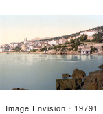 #19791 Photo of the Waterfront Village of Volosko, Volosco, Volosca, Opatija, on the Kvarner Gulf in Istria, Croatia by JVPD
