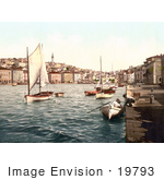 #19793 Photo Of Boats In The Marina In Mali Losinj Lussinpiccolo Istria Croatia