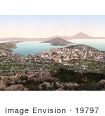 #19797 Photo Of A Cityscape Of Mali Losinj Lussin-Piccolo Lussinpiccolo Istria Croatia