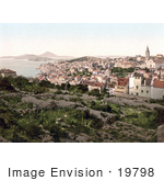 #19798 Photo Of The Coastal City Of Mali Losinj Lussinpiccolo Istria Croatia