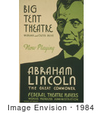 #1984 Abraham Lincoln The Great Commoner