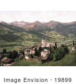 #19899 Stock Picture Of Gastein In Salzburg Austria