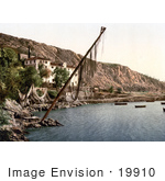 #19910 Stock Picture Of The Fishing Village Of Volosko On The Kvarner Gulf In Opatija Croatia