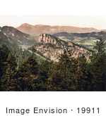 #19911 Stock Picture Of Bolleros Road And The Semmering Railway Near Raxalpe Mountain Styria Austria