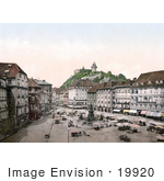 #19920 Stock Picture Of The Market Place In Graz Styria Austria