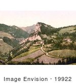 #19922 Stock Picture Of Semmering Railway Through Breitenstein In Styria Breitenstein Am Semmering Lower Austria