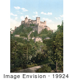 #19924 Stock Picture Of The High Salzburg Fortress In Salzburg Austria